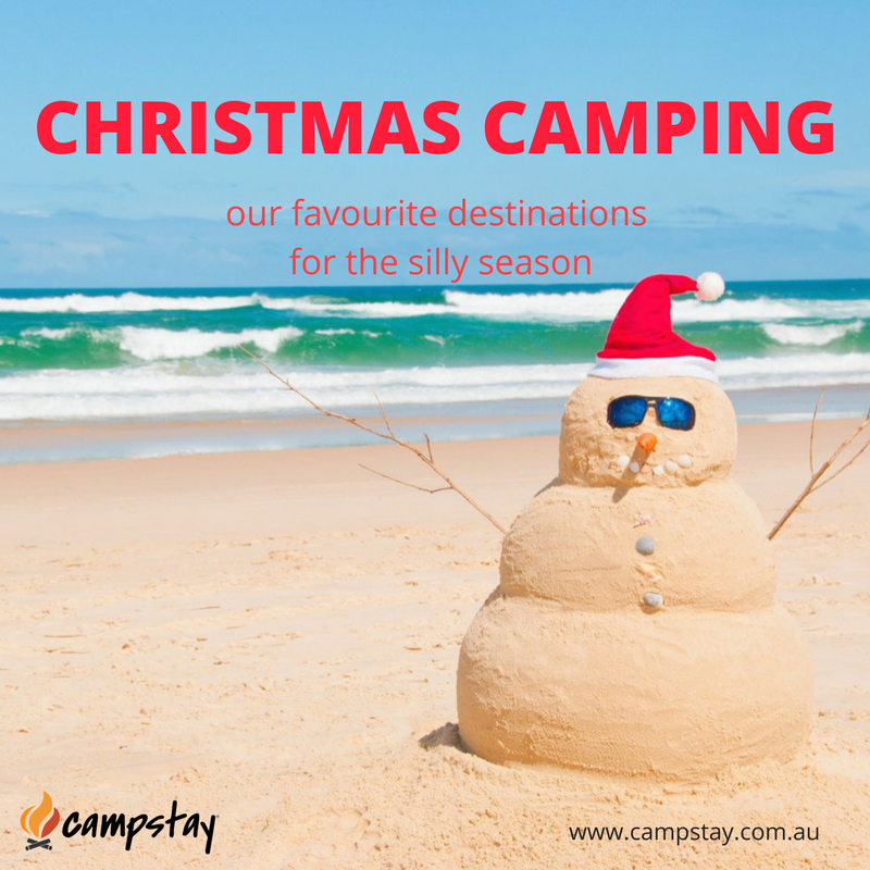 Christmas camping with Campstay