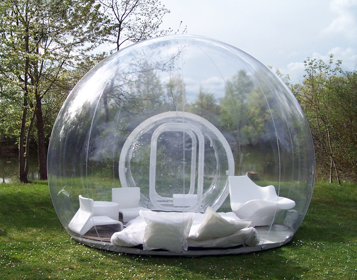 Cristal Bubble inflateable tent